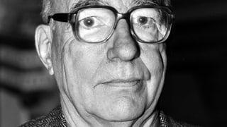 Engagiert bis zuletzt: Schriftsteller Kurt Marti ist tot