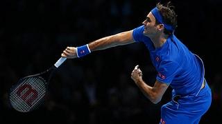 Federer bleibt im Rennen um die Halbfinals