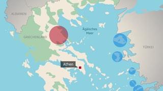 Flüchtlingsansturm in der Ägäis: Die Zahlen