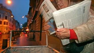 Viel Werbung in Zeitungen – Verträger arbeiten länger