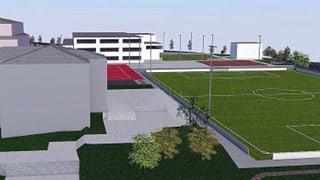 Bezirk Schwyz und Gemeinde Arth planen neues Sportzentrum