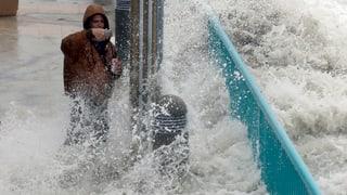 Hurrikan «Matthew» trifft auf Land