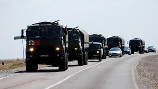 Separatisten: Kämpfer aus Russland sind auf dem Weg