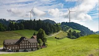 Riesige Windräder spalten die Bevölkerung