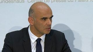 Alain Berset sieht Gesundheitspolitik des Bundesrats bestätigt