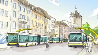 Stadt Schaffhausen stellt ihre Busflotte um