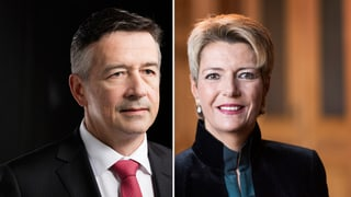 FDP setzt auf Karin Keller-Sutter und Hans Wicki