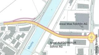 Gemeinde Schwyz investiert Millionen für Brücke über Muota