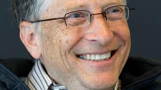 Bill Gates zurück an der Spitze