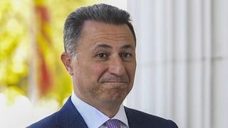 Gruevski wurde wegen Korruption verurteilt. Auf der Flucht vor einer Haftstrafe hat er bei einem alten Freund angeklopft.
