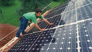Sonne statt AKW – retten Bauern die Energiewende?