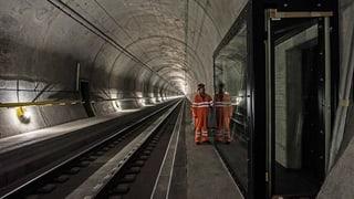 «Trainspotting» im Gotthard-Basistunnel
