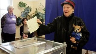 Entscheidung auf der Krim: Über 50 Prozent Wahlbeteiligung