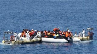 Mehr Rettungsboote und Flugzeuge fürs Mittelmeer