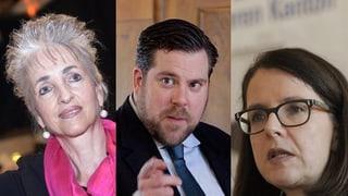 Regierungsratswahlen Zürich: Dieses Trio will Ursula Gut beerben