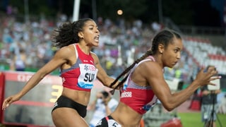 Sprintstaffel der Frauen läuft Landesrekord