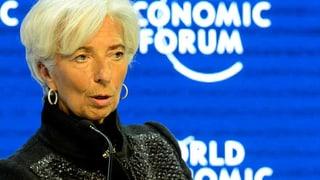 Ausblick 2016: Lagarde warnt vor Risiken