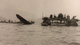 Flugzeugabsturz im Zugersee während des Kriegs (Artikel enthält Audio)