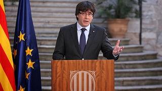 Puigdemonts Flucht zeuge «von Verzweiflung», heisst es aus Madrid.