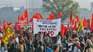 20'000 Kurden demonstrieren in Düsseldorf gegen IS