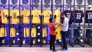 Schon über 10'000 Neymar-Trikots verkauft
