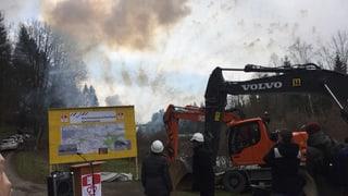 Jetzt beginnen die Bauarbeiten am Entlastungsstollen in Obwalden