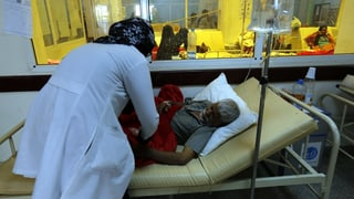 Verzweifelter Kampf gegen Cholera in Jemen