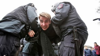 Mehr als tausend Festnahmen bei Anti-Putin-Protesten