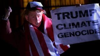 UNO-Klimakonferenz beschliesst Fahrplan: Trump unter Beschuss