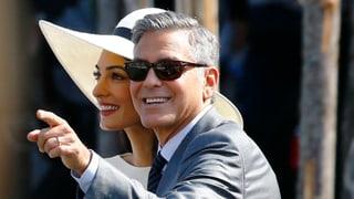 Amal macht's nochmal – Clooneys feiern eine zweite Hochzeit