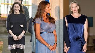Kate, Madeleine oder Charlène: Wer ist am stylischsten schwanger?