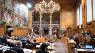 Berna - il Cussegl dals chantuns appellescha al saun giudizi