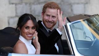 Harry und Meghan feiern mit Elton John und einem besonderen Ring