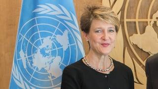 «Sommaruga sprach durchaus zu den Vereinten Nationen»