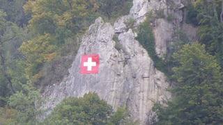 Aufgehängt, abgehängt, aufgehängt: Fahne hängt wieder in Liestal