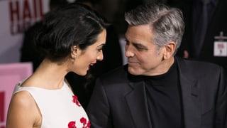 Turteltauben: Die Clooneys fegen Krisengerücht vom roten Teppich