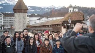 So viele Touristen in der Stadt Luzern wie noch nie