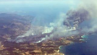 Incendis en il Sid da l'Europa