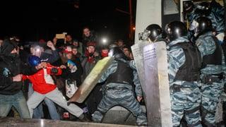 Ukrainischer Politiker von Polizisten spitalreif geschlagen