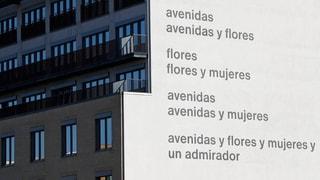 Das Gomringer-Gedicht «Avenidas» an der Fassade der Alice Salomon Hochschule Berlin wird übermalt. Der Entscheid stösst auf heftige Kritik.