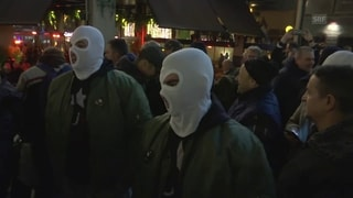 Tausende Menschen protestieren in Belgrad gegen Gewalt