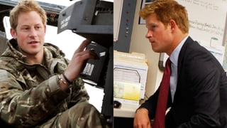 Prinz Harry: Büro-Gummi statt Heli-Pilot