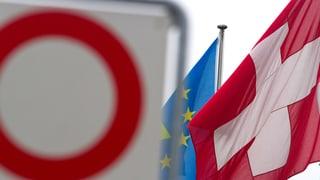 Internes EU-Dokument kommt in Bern schlecht an