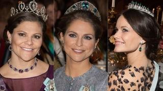 Nobel, nobler, Nobelpreis: So glänzte das Prinzessinnen-Trio