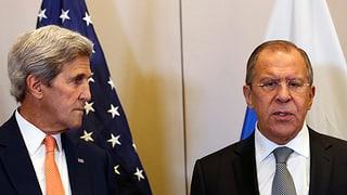 Signal an Syrer: USA und Russland vereinbaren Waffenruhe