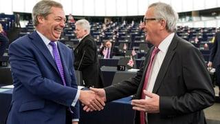 EU will keine Rosinenpickerei zulassen