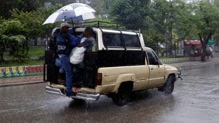 Hurrikan «Matthew» trifft Haiti mit voller Wucht