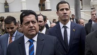 Guaidós Stellvertreter ist festgenommen worden