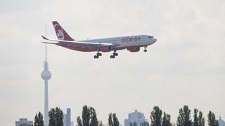 Buhlen um die begehrten Start- und Landezeiten von Air Berlin