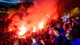 FCZ-Fans feiern ihren Cupsieger